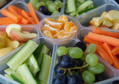 Messy Church Healthy Food